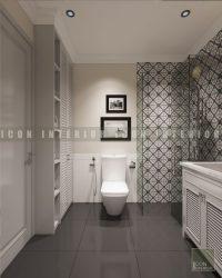 Thiết kế nội thất nhà vệ sinh Vinhomes