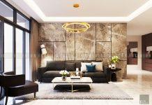 thiết kế nội thất căn hộ Sarica