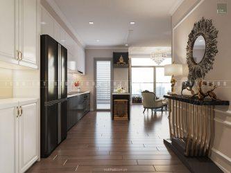 thiết kế nội thất tiền sảnh tân cổ điển