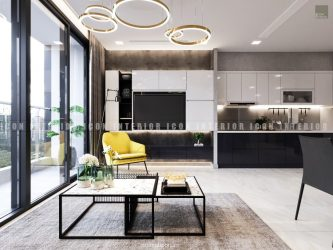 nội thất phòng khách căn hộ vinhomes golden river