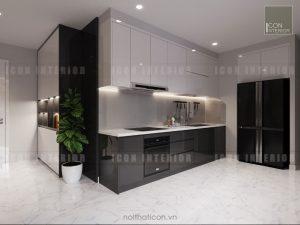 thiết kế nhà bếp vinhomes central park landmark 5