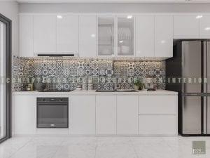 thiết kế nội thất phong cách hiện đại - nhà bếp
