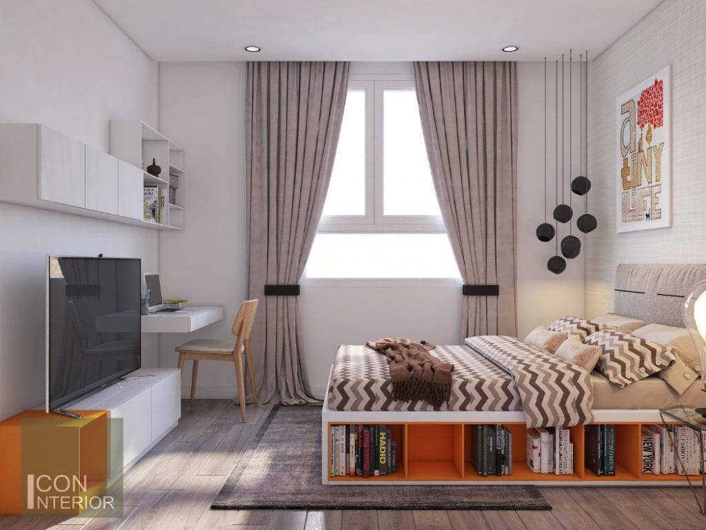 Mẫu phòng ngủ hiện đạicho Bạch Dương