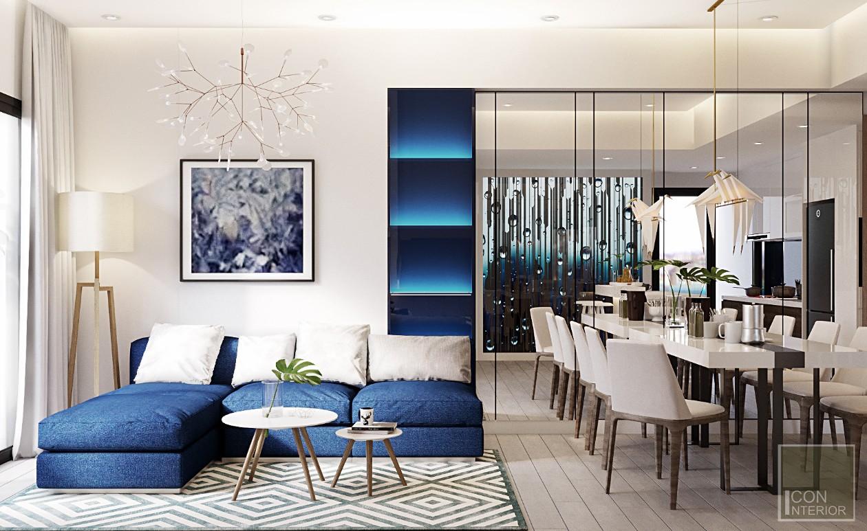 thiết kế phòng khách đẹp cho chung cư nhỏ
