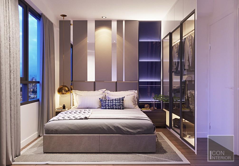Mẫu phòng ngủ hiện đại của Bảo Bình
