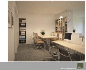 mẫu thiết kế văn phòng đẹp - phòng kế toán