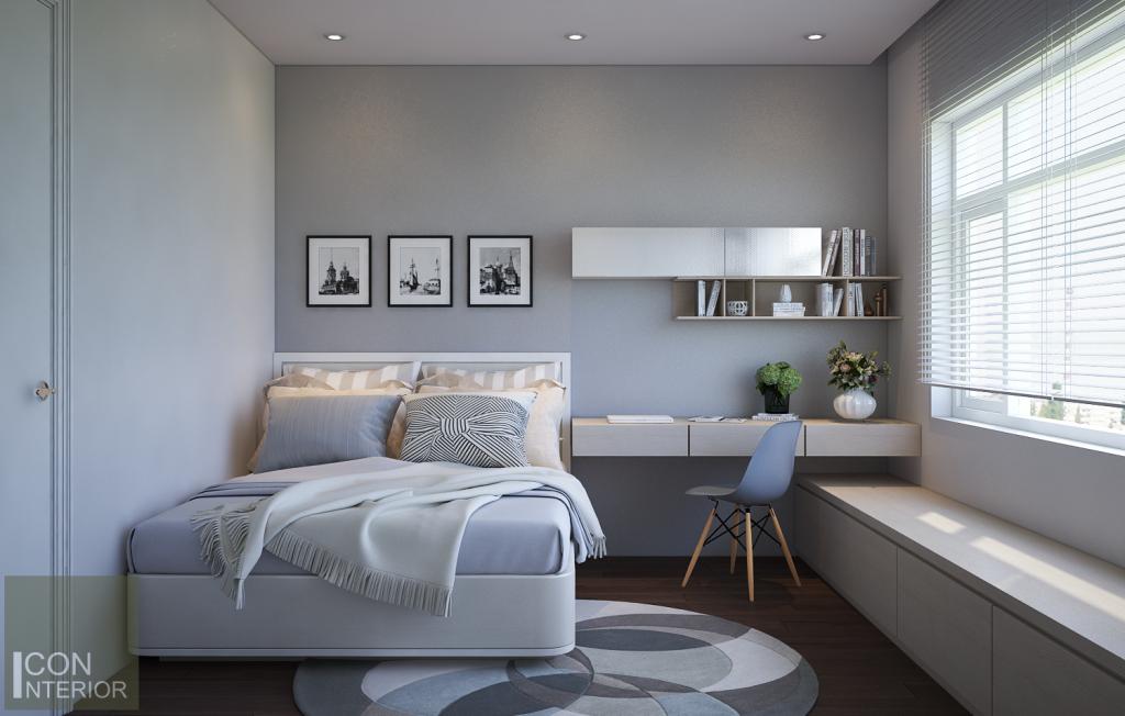 Mẫu phòng ngủ dành cho song tử
