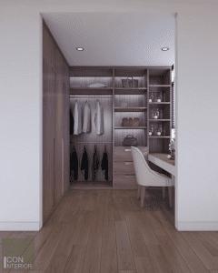 thiết kế nội thất biệt thự lucasta quận 9 - Phòng ngủ master 5