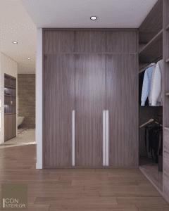 thiết kế nội thất biệt thự lucasta quận 9 - Phòng ngủ master 6