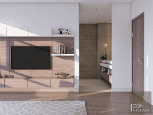 thiết kế nội thất biệt thự lucasta quận 9 - Phòng ngủ master 3