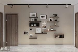 thiết kế nội thất biệt thự lucasta quận 9 - hành lang 2
