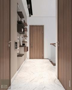 thiết kế nội thất biệt thự lucasta quận 9 - hành lang