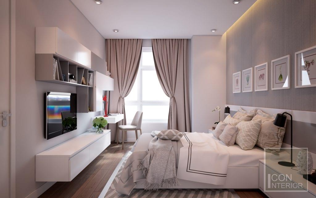 Mẫu phòng ngủ dành cho song tử 1