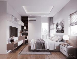 nội thất phòng ngủ chung cư 3 phòng ngủ