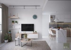 thiết kế nội thất nhà ở đẹp - phòng khách
