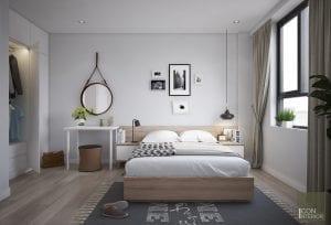 thiết kế nội thất nhà ở đẹp - phòng ngủ