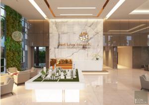 thiết kế văn phòng trọn gói - sảnh 3