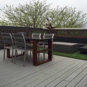 thiết kế vườn rau sân thượng 2