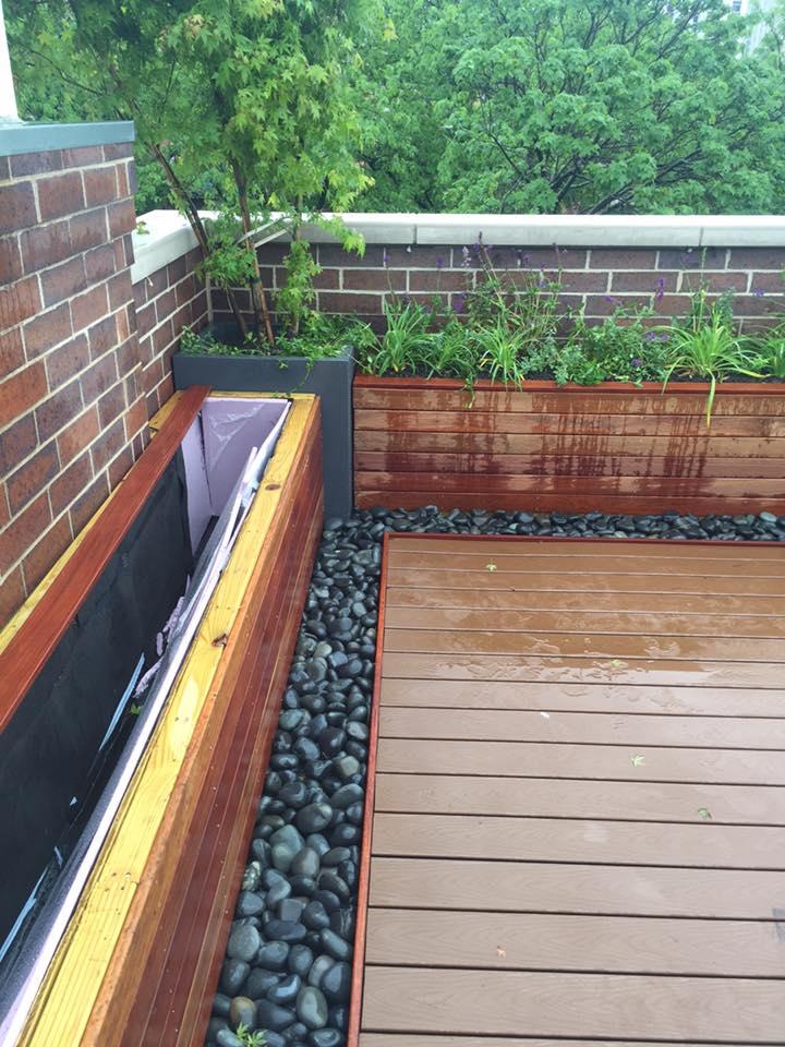 thiết kế vườn rau sân thượng