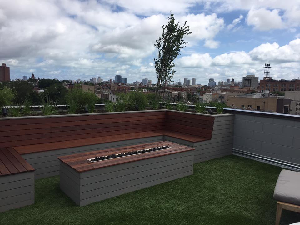 thiết kế vườn rau sân thượng 6