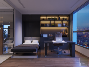 thiết kế nội thất thông minh vinhomes central park landmark 1