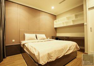 thi công nội thất căn hộ hiện đại - phòng ngủ 1