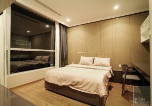 thi công nội thất căn hộ hiện đại - phòng ngủ 2