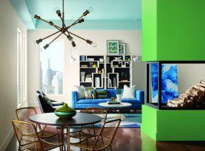 kết hợp màu sắc trong nội thất 1