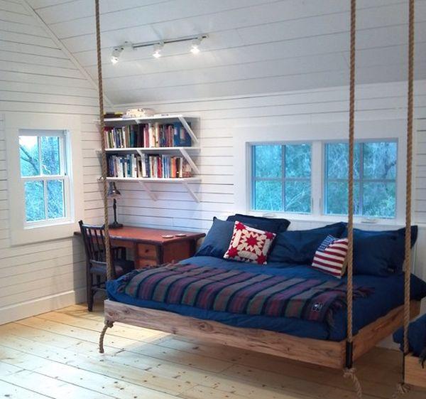 giường ngủ treo tường - ảnh 7