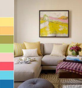 kết hợp màu sắc trong nội thất 4