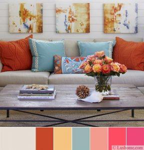 kết hợp màu sắc trong nội thất 7