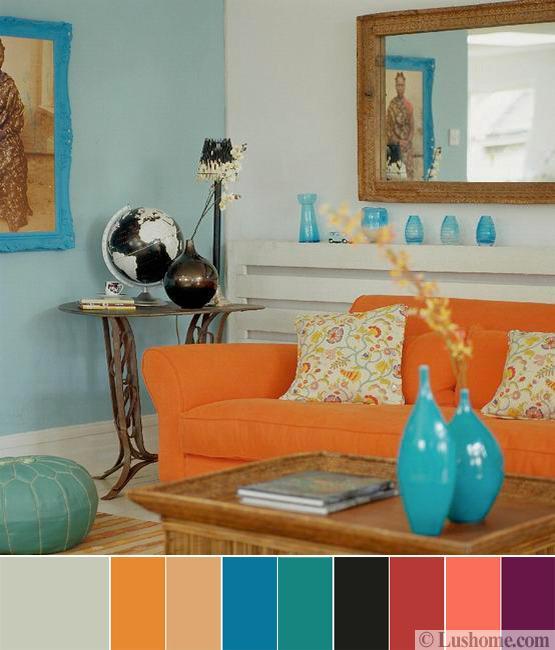 kết hợp màu sắc trong nội thất 10