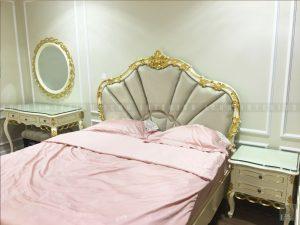 thi công nội thất phòng ngủ nhỏ tân cổ điển