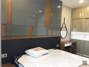 thiết kế thi công căn hộ phòng ngủ