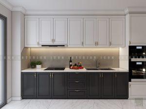 thiết kế nội thất phong cách tân cổ điển - nhà bếp