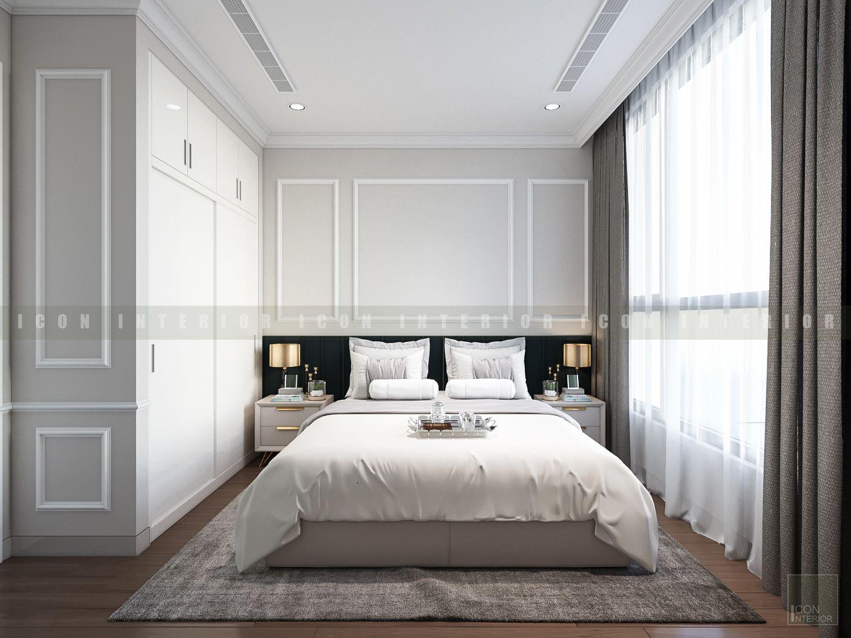 thiết kế nội thất phong cách tân cổ điển - phòng ngủ