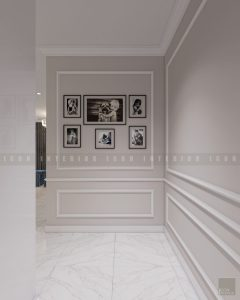thiết kế nội thất phong cách tân cổ điển - tiền sảnh