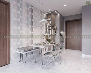 thiết kế nội thất tiền sảnh đơn giản