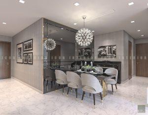 thiết kế nội thất phòng ăn đẹp