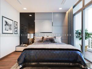 thiết kế nội thất phòng master đẹp