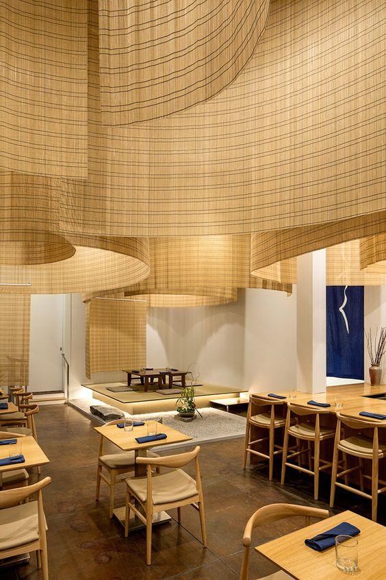 thiết kế nhà hàng tre 5