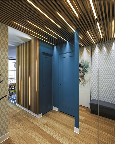 trần nhà bằng gỗ - ảnh 1