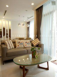 thiết kế thi công nội thất phòng khách căn hộ