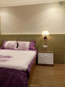 thiết kế thi công nội thất phòng ngủ nhỏ căn hộ