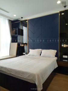 thiết kế thi công nội thất phòng ngủ căn hộ