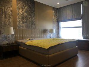 thi công nội thất tphcm - Phòng master căn hộ Vinhomes