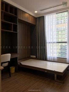 thi công nội thất tphcm - Phòng ngru nhỏ căn hộ Vinhomes