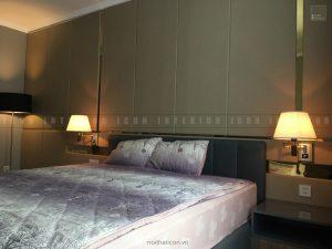 thi công nội thất tphcm - Phòng ngủ căn hộ Vinhomes