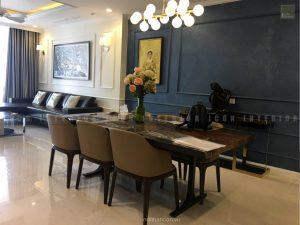 thi công nội thất tphcm - Phòng ăn căn hộ Vinhomes