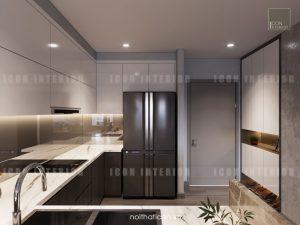 dự án the gold view quận 4 - thiết kế bếp